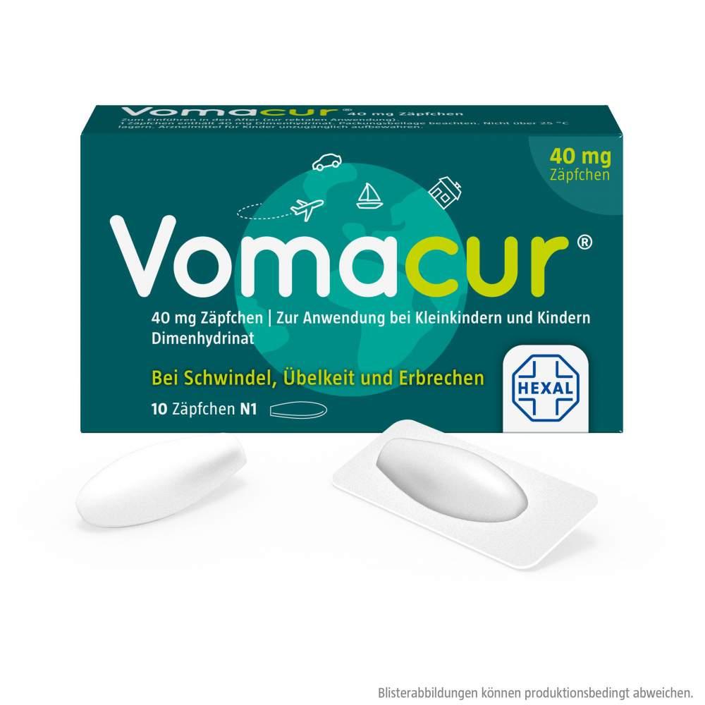 Vomacur® 40mg 10 Zäpfchen