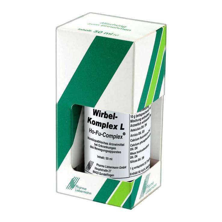 Wirbel Komplex L Ho Fu Complex Tropf. 50 ml