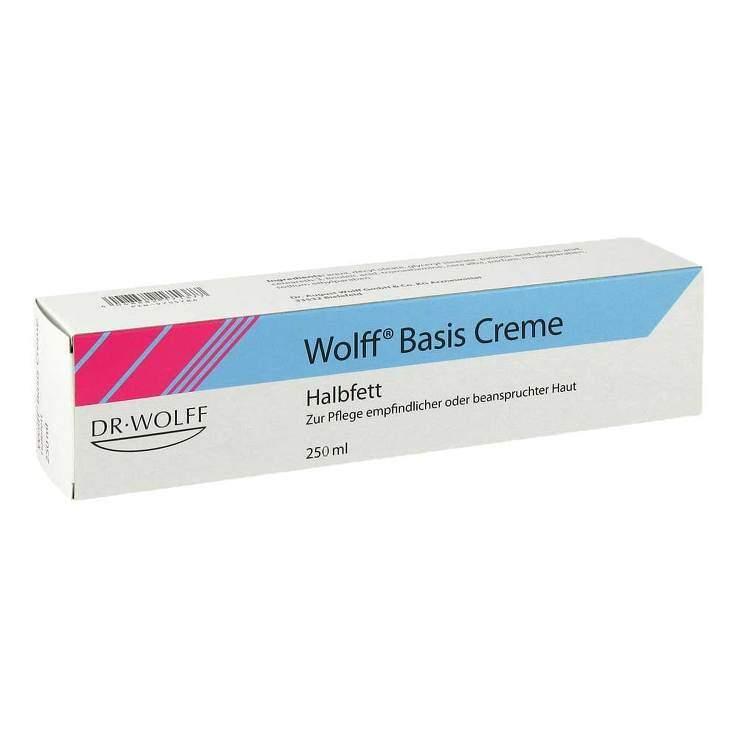 Wolff® Basis Creme halbfett 250ml