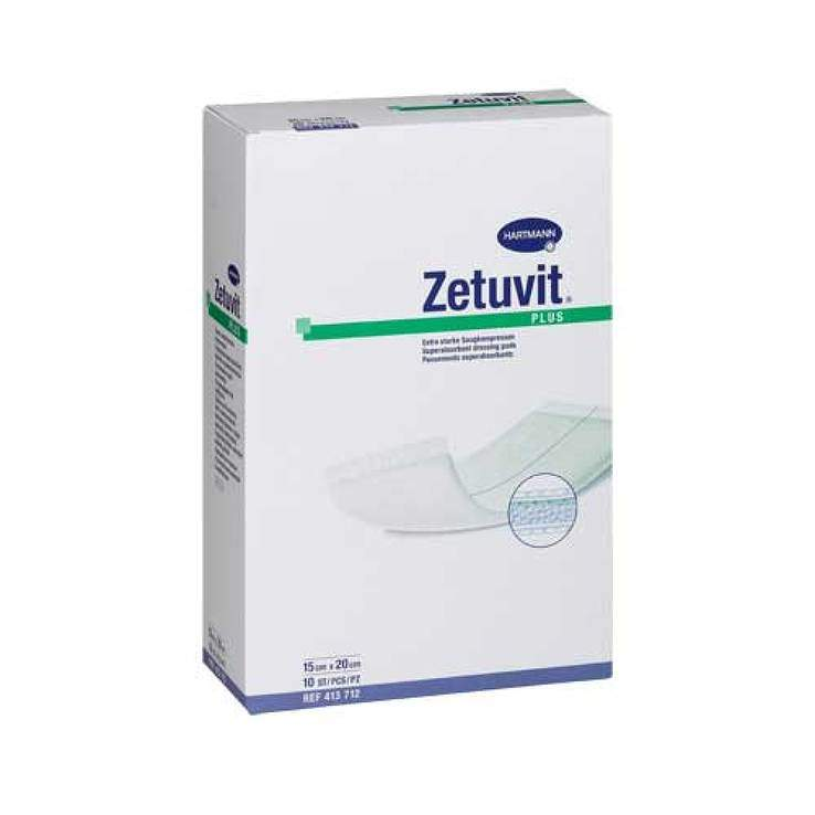 Zetuvit® Plus steril 10 Kompressen 10 cm x 10 cm
