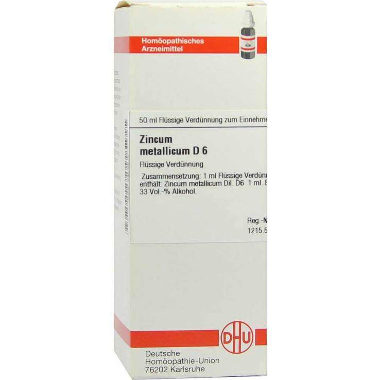 Zincum metallicum D6 DHU 50ml Dil.