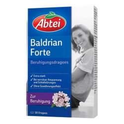 Abtei Baldrian Forte Beruhigungsdragees 30 St.
