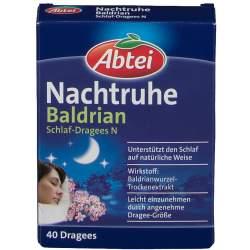 ABTEI Nachtruhe Baldrian Schlaf-Dragees N 40 St.