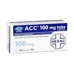ACC® 100mg tabs 50 Tbl.