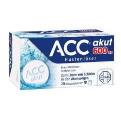ACC® akut 600mg Hustenlöser Brausetbl. 20 St.