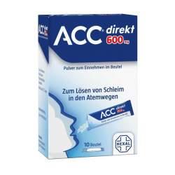 ACC® direkt 600 mg Pulver zum Einnehmen 10 Beutel