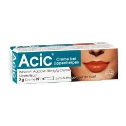 Acic® Creme bei Lippenherpes, 50 mg/g Creme 2g