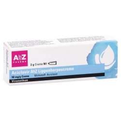 Aciclovir AbZ Lippenherpescreme 50 mg/g Creme 2 g