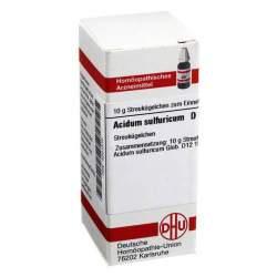 Acidum sulfuricum D12 DHU Glob. 10 g