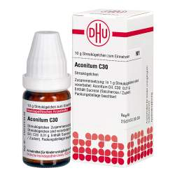 Aconitum C30 DHU Glob. 10g