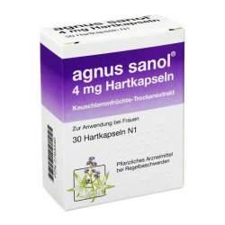 agnus sanol® 4mg 30 Hartkaps.