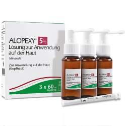 Alopexy 5% Lösung 3x 60 ml