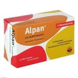 Alpan® 300mg 120 Weichkaps.