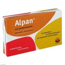 Alpan® 300mg 30 Weichkaps.