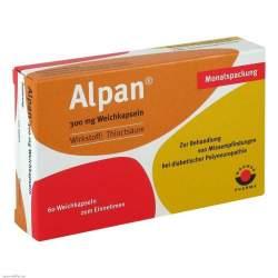 Alpan® 300mg 60 Weichkaps.