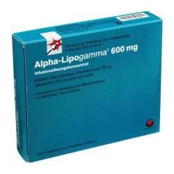 Alpha-Lipogamma® 600mg Inf.-Lsg. 5 Amp.