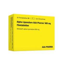 Alpha-Liponsäure AAA-Pharma 600 mg 30 Filmtbl.