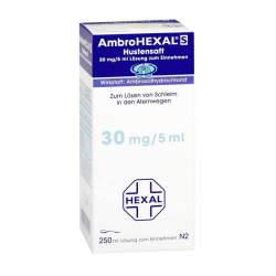 AmbroHEXAL® S Hustensaft 30 mg/5 ml 250ml