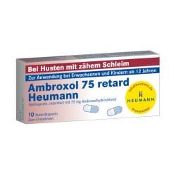Ambroxol 75 retard Heumann 10 Hartkaps., retardiert