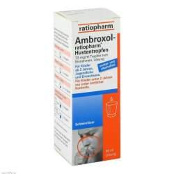 Ambroxol-ratio 50 ml Hustentropfen