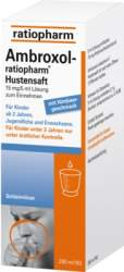 Ambroxol-ratio Hustensaft 250 ml