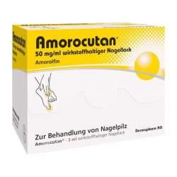 Amorocutan 50mg/ml wirkstoffhalt. Nagellack 3ml