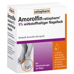 Amorolfin-ratiopharm® 5% Nagellack 5ml