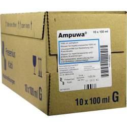 Ampuwa®, Lösungsmittel zur Herstellung von Parenteralia 10 Glasflaschen 100 ml