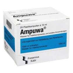 Ampuwa®, Lösungsmittel zur Herstellung von Parenteralia 20 Polyethylenampullen 10 ml