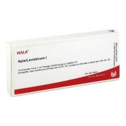Apis/Levisticum I, Flüssige Verdünnung zur Injektion, Wala 10 Amp. 1 ml