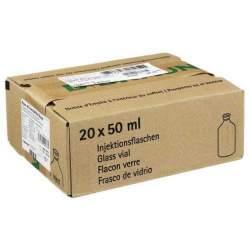 Aqua ad iniectabilia Braun Lösungsmittel zur Herstellung von Parenteralia, 20x 50 ml Fl.