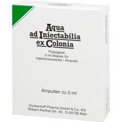 Aqua ad Iniectabilia ex Colonia Amp. 10x5ml