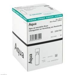 Aqua ad inject. Miniplasco connect Amp. 20x20ml