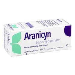 Aranicyn Leber-Gallemittel 50ml