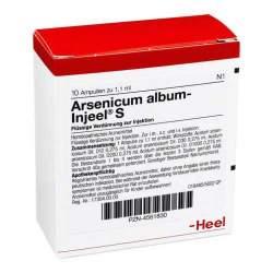 Arsenicum album-Injeel S 10 Amp.