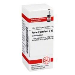 Arum triphyllum D12 DHU Glob. 10 g