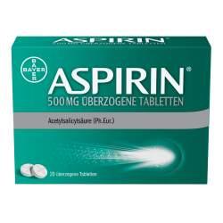 Aspirin® 500 mg 20 überzogene Tabletten