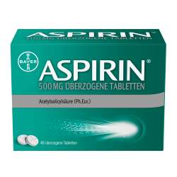 Aspirin® 500 mg 40 überzogene Tabletten