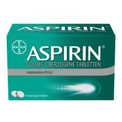 Aspirin® 500 mg 80 überzogene Tabletten