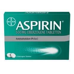 Aspirin® 500mg 8 überzogene Tabletten