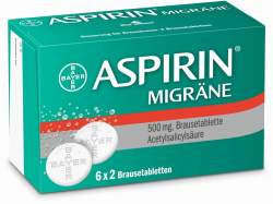 Aspirin® Migräne, 12 Brausetabl.