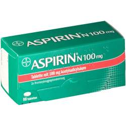 Aspirin® N 100mg 98 Tbl.