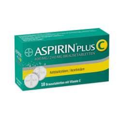 Aspirin® Plus C, 400 mg/240 mg 10 Brausetabletten