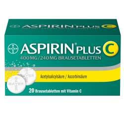 Aspirin® Plus C, 400 mg/240 mg 20 Brausetabletten