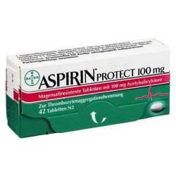 Aspirin® protect 100mg 42 Tbl. msr.
