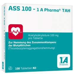 ASS 100 - 1 A Pharma® TAH 100 Tbl.