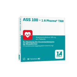 ASS 100 - 1 A Pharma® TAH 50 Tbl.