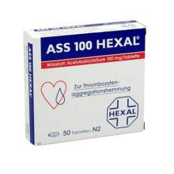 ASS 100mg HEXAL® 50 Tbl.