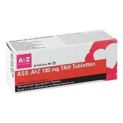 ASS-AbZ 100 mg TAH 50 Tbl.
