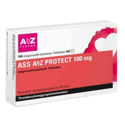 ASS AbZ PROTECT 100mg 100 msr. Tabl.